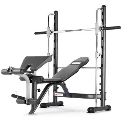 smith bench machine marcy tsa5762 half smith machine fixed weight bench at