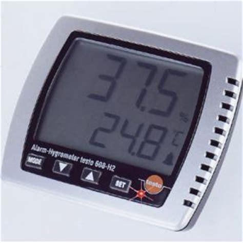 Jual Thermometer Led harga jual testo 608 hygrometer cv javaindotech