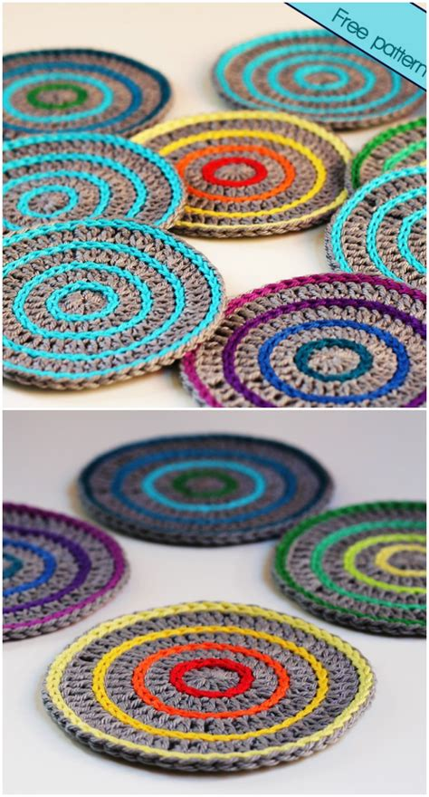 roller coaster pattern free crochet coaster patterns for your home diy home decor