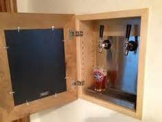 how to install a kegerator with wall mounted taps