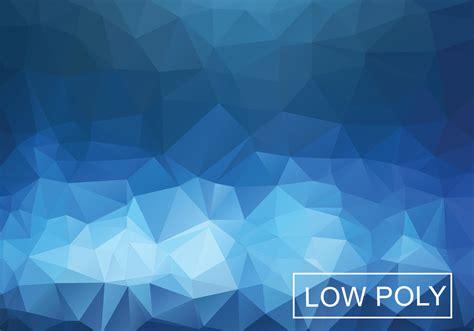 cobalt geometric  poly style illustration vector