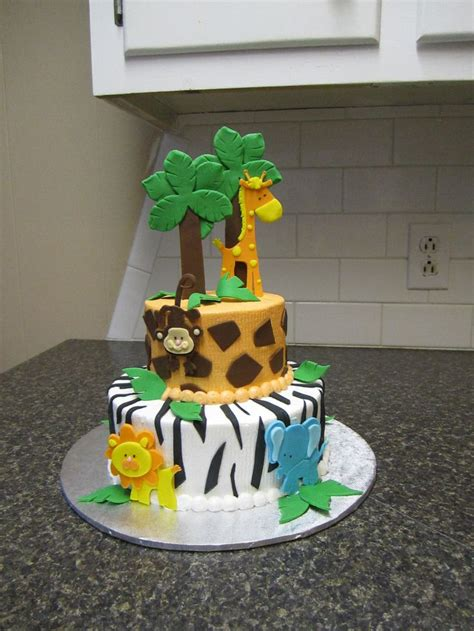Pasteles De Safari Para Baby Shower by Living Room Decorating Ideas Safari Baby Shower Cakes