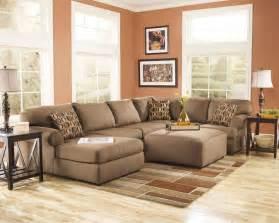 Apartment Sofa With Ottoman Furniture Living Room Fusion Cowan Mocha