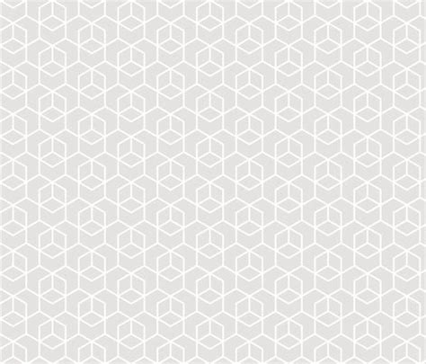 grey hexagon pattern fabric hexagon trellis white on pale grey fabric by little fish