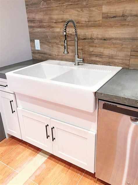 Retrofitting a Cabinet for a Farm House Sink   Bower Power