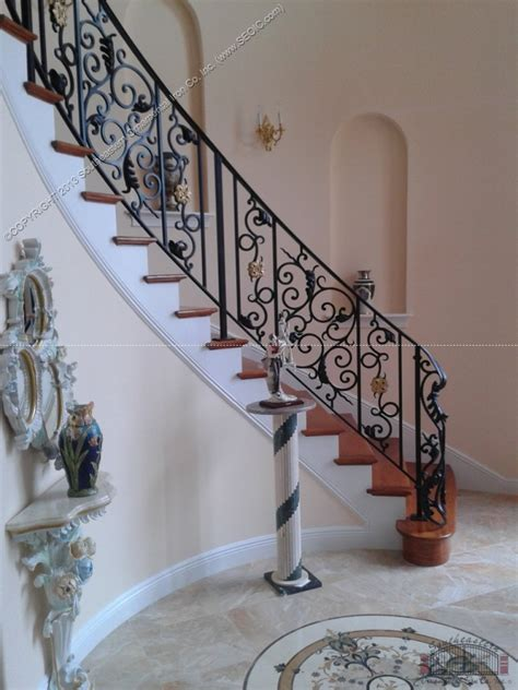 Banister Iron Works banister iron works wrought iron stair railing southeastern ornamental iron