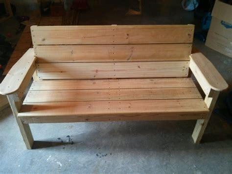 yellawood garden bench  speakgeek  lumberjockscom