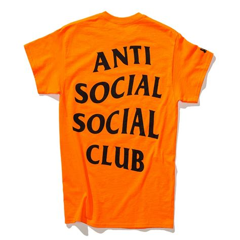 Hoodie Anti Social Paranoid New Coming T0210 anti social social club assc undefeated paranoid t shirt orange