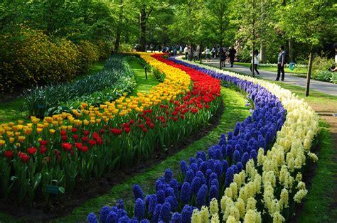 Keukenhof The Garden Of Europe Woonder List Netherland Flower Garden