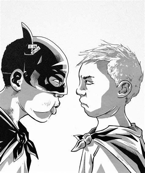 Kaos Batman Superman Artworks 4 Cr Oceanseven batman vs superman of recess by iacopocalisti89 on deviantart