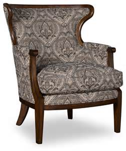 Traditional Accent Chairs Living Room A R T Wood Trim Accent Chair In Loden Traditional Living Room Chairs By Bedroom