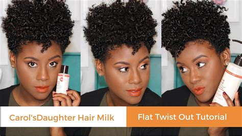 Short Natural Hair Carols Daughter | natural hair tapered cut flat twist out carol s daughter