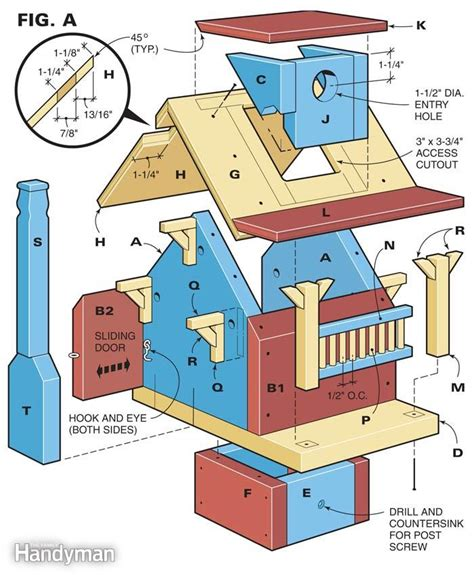 diy home plans woodwork do it yourself bird house plans pdf plans