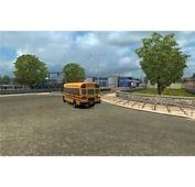 SCHOOL BUS IN TRAFFIC 123 Mod  Euro Truck Simulator 2 Mods