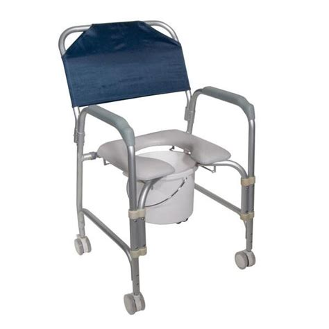 lightweight portable shower chair commode with casters lightweight portable shower chair commode with casters