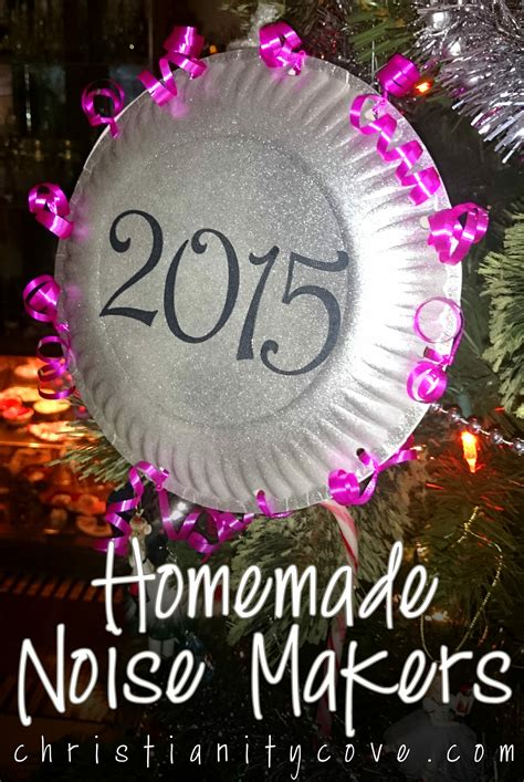 new year craft new years craft noise makers