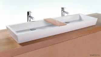 dual bathroom sink vc848a 48 quot bathroom trough sink the cube