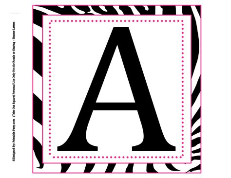 large square printable alphabet letters