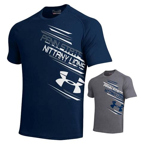 T Hisrt Armour 2 penn state armour tech arch t shirt mens gt tshirts