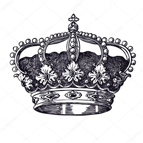 old crown vintage illustration stock photo 169 olga