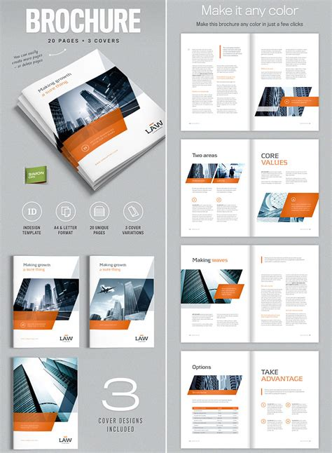 indesign brochure templates creative business