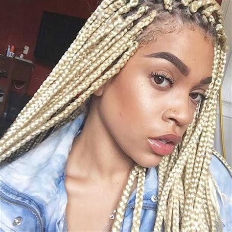 women with long blonde braids 51 hot poetic justice braids styles page 3 of 5 stayglam