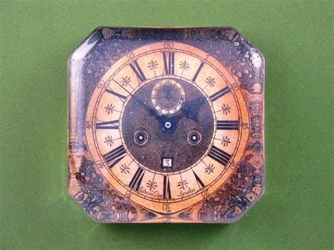 pin square clock faces on pinterest gold and black antique clock face square glass paperweight