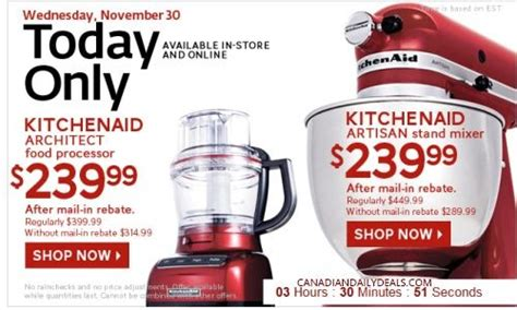 Kitchenaid Food Processor The Bay Canadian Daily Deals The Bay Kitchenaid Architect Food