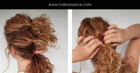 diy hairstyles for thick curly hair the triple curly twist naturally curly hair awesome