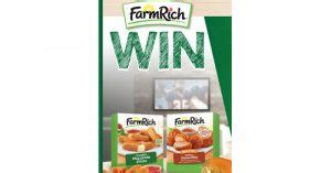 Farm Rich Sweepstakes - farm rich win your party instant win game and sweepstakes sweepstakes and more