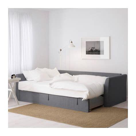 holmsund sofa bed review holmsund sleeper sectional 3 seat nordvalla medium gray