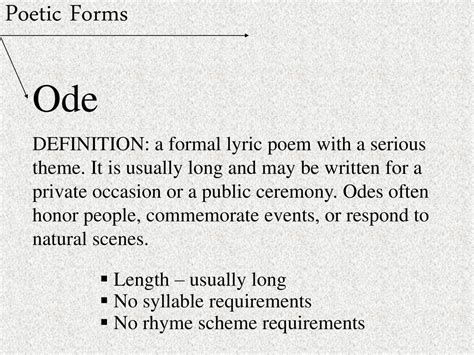 theme long definition poetry ppt download