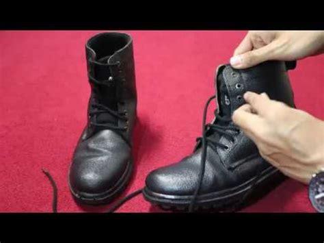 tutorial menalikan tali sepatu tutorial tali sepatu pdl youtube