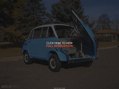how to work on cars 1958 bmw 600 lane departure warning 1958 bmw 600 information and photos momentcar