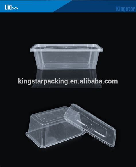 Container Microwave 1 500ml 500ml microwave rectangle food container with lid buy food container pp container plastic food