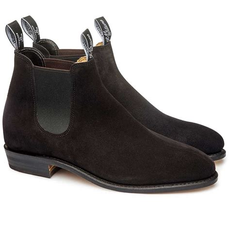 R M Williamsgilchrist Suede Boots rm williams suede adelaide boots 2 colours