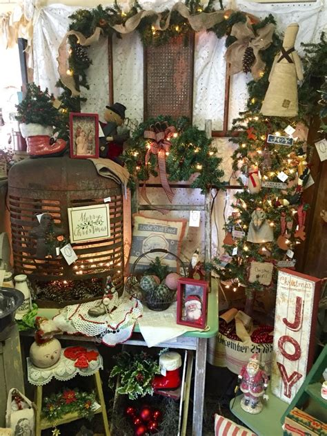 christmas 2015 booth display at isaac s rusty wagon