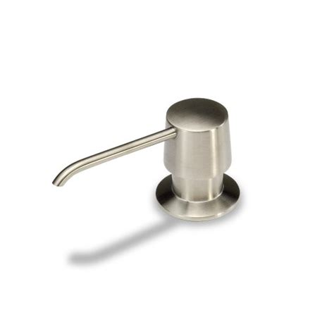 brushed nickel soap dispenser bathroom luxier sc02 tb kitchen bathroom sink soap or lotion pump