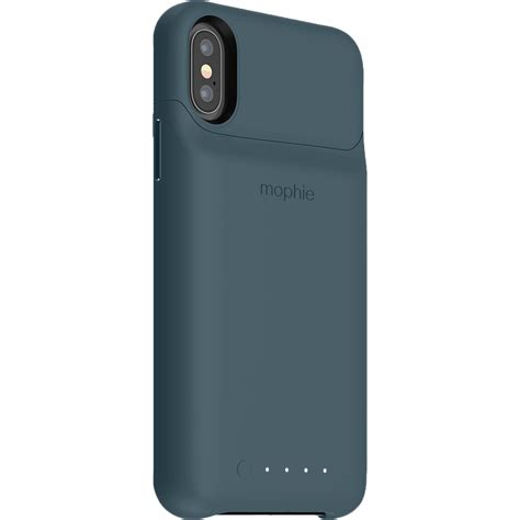 mophie juice pack access for iphone x xs navy 401002828 b h