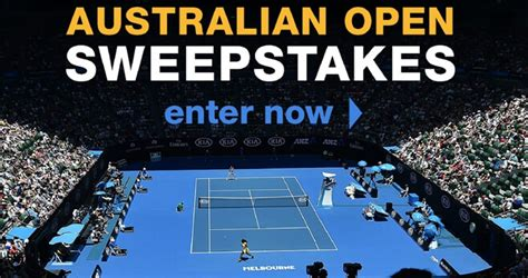 Australian Open Sweepstakes - tennis channel 2019 australian open trip giveaway