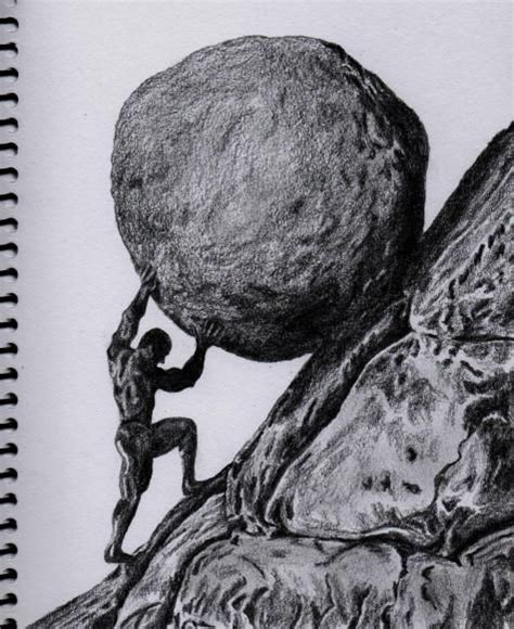 drawings of sisyphus lunchbreaks tattoo pinterest