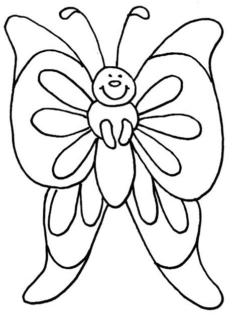 coloring pages of big butterflies painted lady butterfly coloring page coloring home
