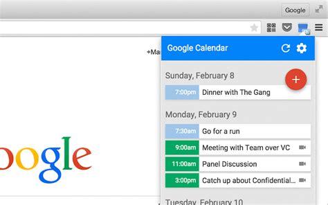Calendar Opera Extension 7 Chrome Extensions To Improve Calendar