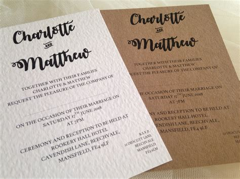 wedding invitations with individual names and grooms names wedding invitations stationery