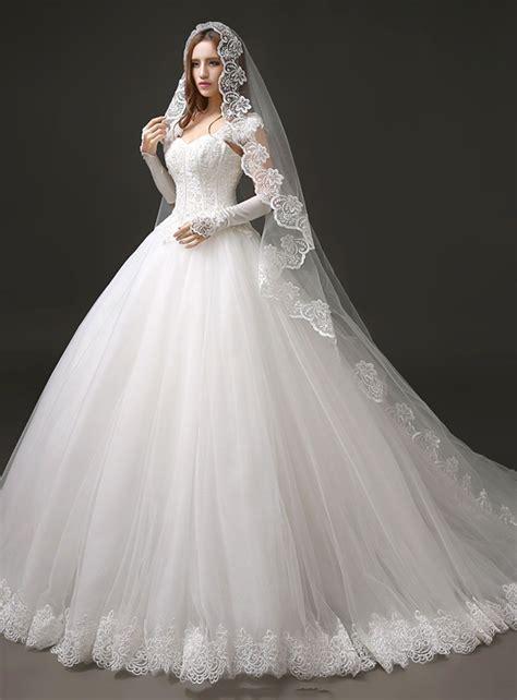 fantastic cap sleeve ball gown perals brush train wedding