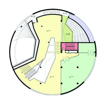 Post Circle Floor Plans by Gallery Of In Progress Water Circle Unsangdong