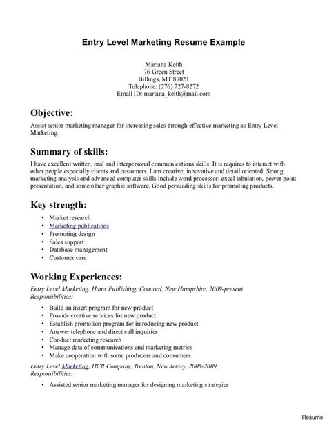 Beginner Resume Exles Puter Programmer Entry Level Beginner Resume Template Sle Beginner Resume Template