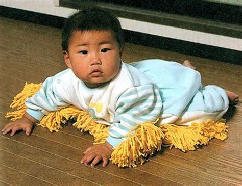 Baby Clean Floor by Fireflies And Jellybeans Myo Baby Mop Onesie