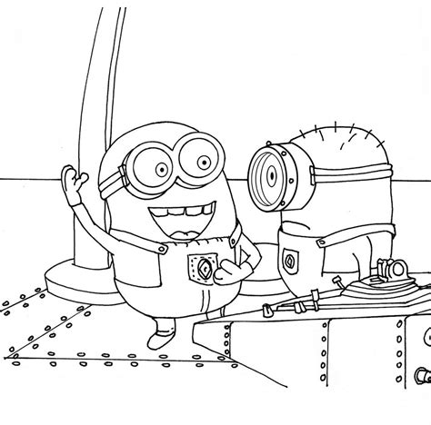 Free Coloring Pages Of Baby Despicable Despicable Me Minions Coloring Pages