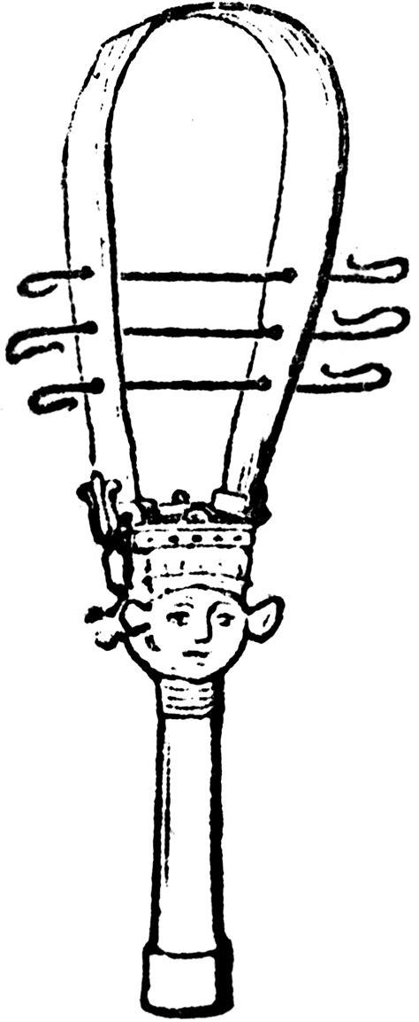 sistrum clipart